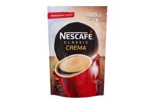 Кофе натуральный растворимый порошкообразный Classic Crema Nescafe д/п 100г