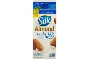 Silk Almond Milk Light Vanilla