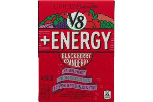 V8 + ENERGY Blackberry Cranberry - 4 CT