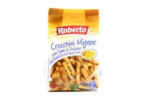 Палочки Crocchini Mignon с кунжутом Roberto 150г