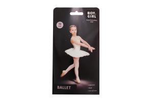Колготы детские Boy&Girl Ballet 70den 140-146 white