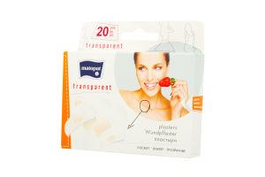 Пластырь медицинский Transparent Matopat 20шт