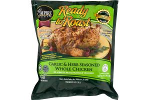 Empire Kosher Ready to Roast Whole Kitchen Garlic & Herb Seasoned