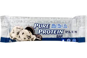 Pure Protein Plus Bar Cookies & Cream