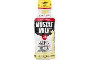 Muscle Milk Non Dairy Protein Shake Banana Creme