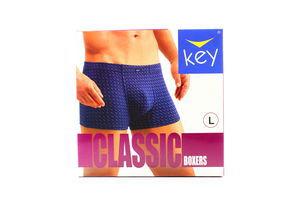Труси Key чоловічі Boxers MXH 481 A4 NI L