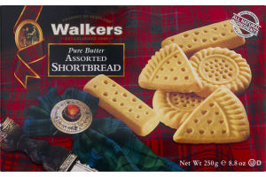 Walkers Pure Butter Shortbread Assorted