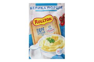 Пюре швидкого приготування картопляне зі смаком вершків Rollton м/у 60г