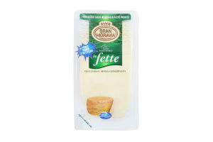 Сыр 32% типа пармезан нарезка Gran Moravia в/у 150г