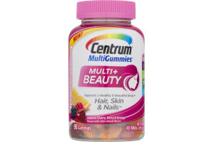 Centrum MultiGummies Multi + Beauty - 90 CT
