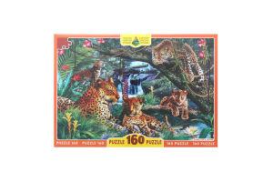 Пазли для дітей від 3рок Леопарди Київська Фабрика Іграшок 160ел