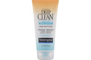 Neutrogena Deep Clean Long Last Shine Control Cleanser/Mask