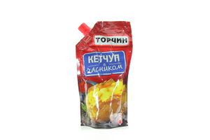 Кетчуп с чесноком Торчин д/п 300г