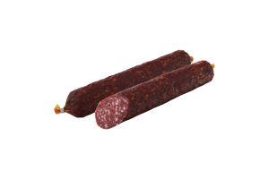 Колбаса высшего сорта Сушеная с говядиной Ранчо с/к м/у 340г