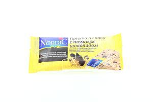 Галета из овса с темным шоколадом Nordic 30г
