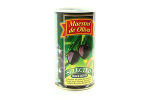 Маслины без косточки Maestro de Oliva ж/б 360г