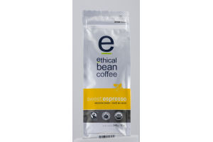 Ethical Bean Coffee Whole Bean Arabica Coffee Sweet Espresso Medium Dark