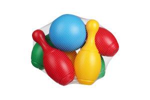 Игрушка Технок набор д.боулинга