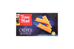 Вафельки Traou Mad de Pont-Aven хрустящие