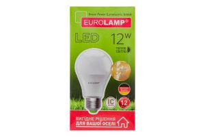 Лампа Eurolamp LED ЕКО А А60 12W 3000K E27