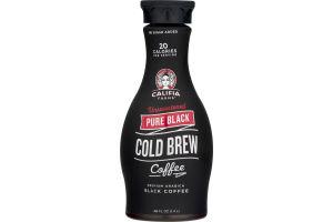 Califia Farms Pure Black Cold Brew Coffee Unsweetened