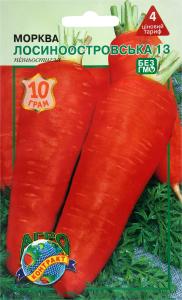 Семена Морковь Лосиноостров Агрокон 1г