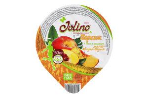 Десерт фруктовий Персик Jolino ст 150г