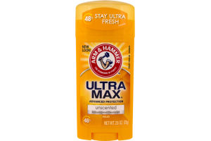Arm & Hammer Antiperspirant Deodorant Ultra Max Advanced Protection Unscented