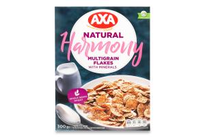 Пластівці мультизернові Harmony Axa к/у 300г