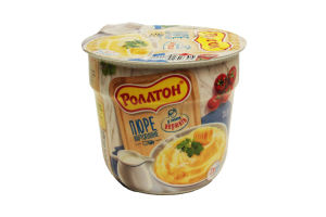 Пюре картоф Сливки стакан Роллтон 37г