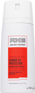 Антиперспірант Charge up protection Adrenaline Axe 150мл