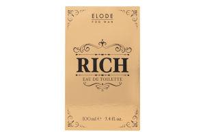 Вода туалетна чоловіча Rich Elode 100мл