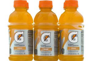 Gatorade Thirst Quencher Orange - 6 PK