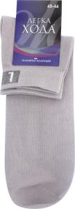 Шкарпетки чоловічі Легка хода №6209 31 срібло
