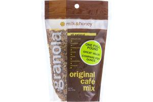 Milk & Honey Granola Original Cafe Mix