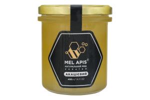 Мед акациевый натуральный Mel Apis с/б 400г