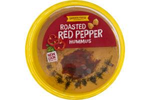 Garden Fresh Gourmet Hummus Roasted Red Pepper