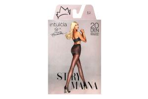 Колготки Intuicia Strymana 20den 4-L чорні