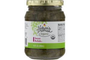 Nature's Promise Organic Sweet Relish