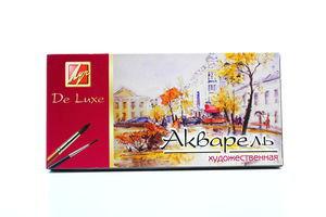 Акварель Люкс Watercolors De Luxe 24цветов Луч