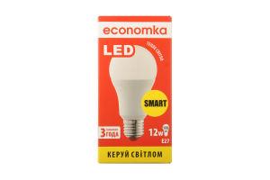 Лампа світлодіодна Economka LED A60 12W E27 2800K 1шт