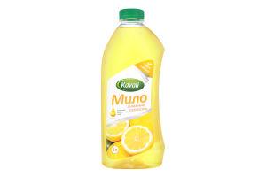 Мыло жидкое натуральное Лимонная свежесть Kavatі 1л