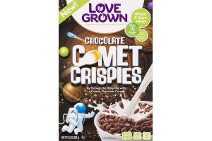 Love Grown Chocolate Comet Crispies Cereal