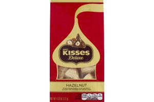 KISSES DELUXE Chocolates, 15 Piece Pouch, 4.33 oz