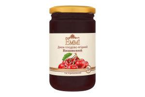 Джем плодово-ягідний пастеризований Вишневий Emmi с/б 375г