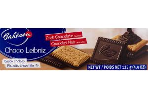 Bahlsen Crispy Cookies Dark Chocolate