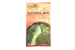 Лаврове листя (мелене) 20г /Добрик/