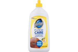 Pledge Floor Care Cleaner Lemon