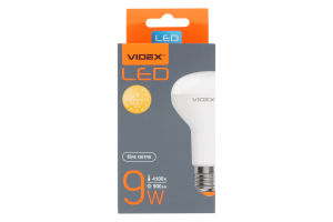 Лампа світлодіодна R63e 9W E27 4100K 220V Videx 1шт