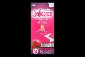 Полоски для депіляції тіла воскові для нормальної шкіри Confidence Super-Max 20шт